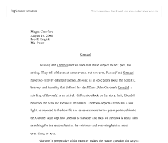 themes of beowulf poem beowulf and grendel university linguistics classics and related