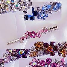 alligator hair austrian swarovski small metal alligator hair clip