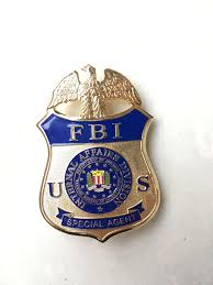 fbi bureau of investigation replica metal badge united states fbi special insignia