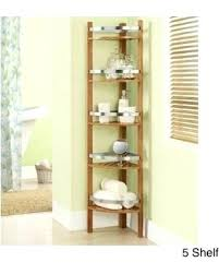 Bamboo Shelves Bathroom Corner Bathroom Shelf Idea Corner Bathroom Shelves Amazing