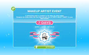 the sims freeplay hobbies makeup artist the who games