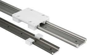 Basta Guia linear com patim / em alumínio / com trilho perfilado - 21240  &FH37