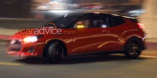hyundai veloster turbo blacked out 2018 hyundai veloster spied undisguised