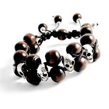 shamballa bracelet price images Skulls wood double row shamballa bracelet simply sofia jpg