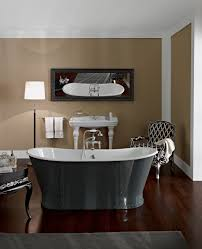 Vio Bathroom Furniture by Astonian Brunel Double Ended Cast Iron Freestanding Bath Tub With