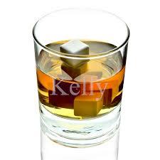 Old Fashioned Gift Set Whisky Glass Bellagio Set W White Ice Ceramic Stones Gift Set