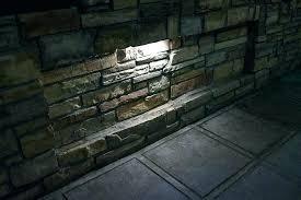 retaining wall lights under cap retaining wall lighting gvlandscapes