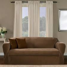 zippered couch cushion covers wayfair