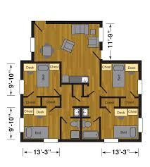Find House Floor Plans By Address Carpenter Wells Hall Halls Housing Ttu