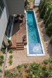 Deck Coffee Table - modern lap pool pool contemporary with concrete pool deck coffee table