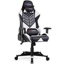 reclining gaming desk chair gtforce pro st reclining sports racing gaming office desk pc car