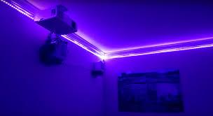 led lights in grout restaurant led lighting eclectic dining room houston by inside led