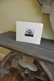 guest sign in book for funeral guest book with photo frame cover an archival keepsake by blue