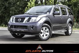 grey nissan pathfinder 2011 nissan pathfinder sv stock 610629 for sale near marietta