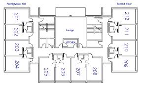 Residences Evelyn Floor Plan by Pennsylvania U0026 Mabee Halls Residence Life Letourneau University