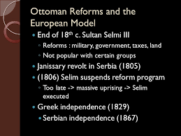 Ottoman Reform Empires And The Age Of Imperialism The Ottoman Empire And