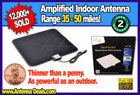 best antenna deals black friday lava hd400 amplified square leaf digital indoor hdtv antenna