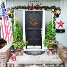 Christmas Home Decoration Ideas by 46 Beautiful Christmas Porch Decorating Ideas U2014 Style Estate