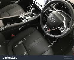 honda civic 2017 interior kuantan malaysia january 27 2017 honda stock photo 565334353