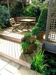 ideas lattice and potted plants with top modern decks also