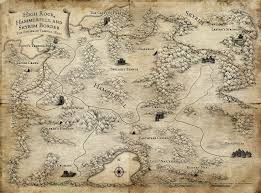 Skyrim World Map by Tamriel The Imperial Library