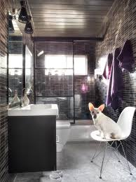 modern small bathrooms ideas modern small bath makeover hgtv