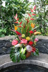 tropical flower arrangements flower shops tropical arrangements hawaii flowers