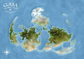Final Fantasy World Map by Gaia World Map Final Fantasy Vii By Andrewscrolls On Deviantart