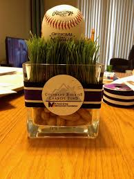 baseball centerpieces lovely design baseball centerpieces these are a home run party and