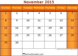 feel free to nov 2015 printable calendar and november