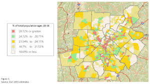 map of metro atlanta where are millennials renting and buying 33n