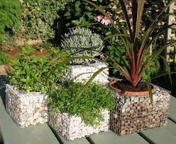 gabion baskets u2013 creative ideas for the garden landscape design