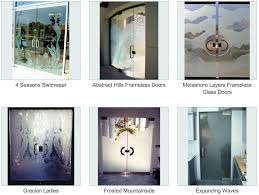 Interior Doors Frosted Glass Inserts by Tropical Designs Sans Soucie Art Glass