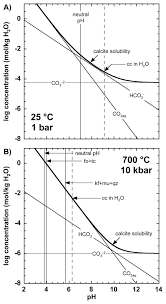 thermodynamic modeling of fluid rock interaction at mid crustal to