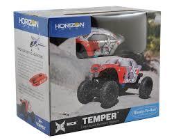 1 24 scale monster jam trucks ecx temper 1 24 rtr micro rock crawler ecx00012t1 cars