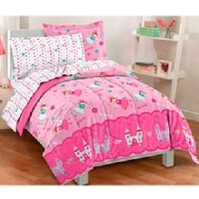 Bedding In A Bag Sets Pretty Pink Purple Burgundy Floral Themed And Popular