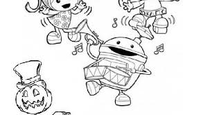 team umizoomi halloween coloring sheets 591540 coloring pages
