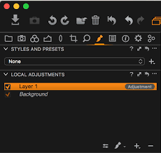 how to create adjustment layers based on color in capture one 9