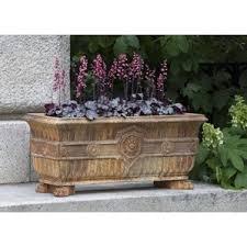 Tierra Verde Planter by Campania International Rectangular Planters You U0027ll Love Wayfair