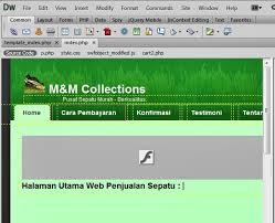 Cara Membuat Halaman Utama Web Dengan Php | bagian 4 membuat halaman utama index php di web penjualan