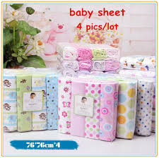 Crib Bedding Sets For Cheap 4pcs Lot Newborn Baby Bed Sheet Bedding Set 76x76cm For Newborn