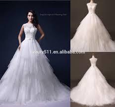 real wedding dress photo2017 beaded a line one shoulder sleeveless