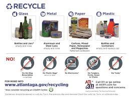 atlanta ga recycling information
