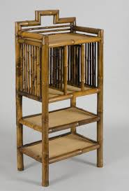 Silver Bookcase Antique Bamboo Bookcase English Bamboo Bookcases
