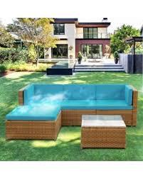 Rattan Garden Furniture Sofa Sets Christmas Shopping Sales On Ikayaa Fashion Pe Rattan Wicker Patio