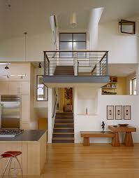 split level home interior modern remodel of the post war split level house into a five level