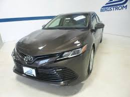 04x7 brownstone 2018 toyota camry for sale at bergstrom automotive