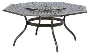 hexagon patio table and chairs hexagon dining table hexagonal table with nesting chairs by carnas