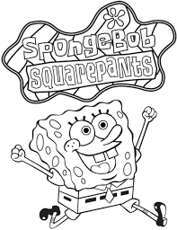 printable 40 spongebob squarepants coloring pages 1964 spongebob
