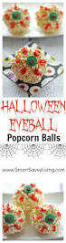 halloween eyeball popcorn balls recipe